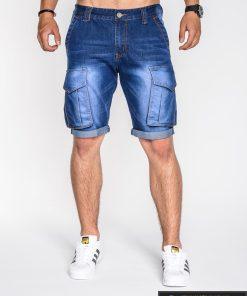 vyriški šortai internetu, pirkti džinsiniai šortai, originalus šortai vyrams, džinsinės spalvos vyriški bridžai, bridžai vyrams gera kaina