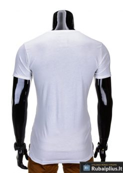 madingi vyriški marškinėliai baltos spalvos, denim kolekcijos vyriški marškinėliai, trumpomis rankovėmis marškinėliai vyrams, klasikiniai vyriški marškinėliai, stilingi marškinėliai vyrams internetu, originalūs vyriški marškinėliai, marškinėliai vyrams spalvos, vyriški marškinėliai su užrašu ir aplikacija, marškinėliai uz gera kaina, protinga kaina, akcija, nuolaidos rūbams