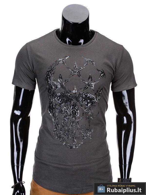 vyriški marškinėliai chaki spalvos su kaukolės aplikacija, denim kolekcijos vyriški marškinėliai, trumpomis rankovėmis marškinėliai vyrams, klasikiniai vyriški marškinėliai, marškinėliai vyrams internetu, originalūs vyriški marškinėliai, marškinėliai vyrams spalvos, vyriški marškinėliai su užrašu ir aplikacija, marškinėliai uz gera kaina, protinga kaina, akcija, nuolaidos rūbams