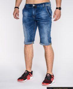 džinsiniai vyriški šortai uz protinga kaina, vyriški šortai internetu, pirkti džinsiniai šortai, originalus šortai vyrams, mėlynos spalvos vyriški bridžai, bridžai vyrams gera kaina