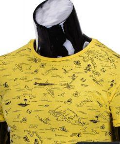 vyriški marškinėliai geltonos spalvos, denim kolekcijos vyriški marškinėliai, trumpomis rankovėmis marškinėliai vyrams, klasikiniai vyriški marškinėliai, marškinėliai vyrams internetu, originalūs vyriški marškinėliai, marškinėliai vyrams spalvos, vyriški marškinėliai su užrašu ir aplikacija, marškinėliai uz gera kaina, protinga kaina, akcija, nuolaidos rūbams