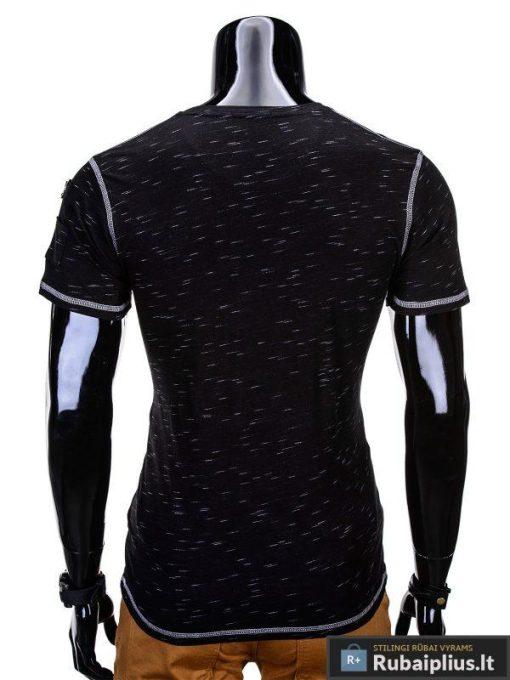 Juodos spalvos vyriški marškinėliai, trumpomis rankovėmis marškinėliai vyrams, klasikiniai vyriški marškinėliai, marškinėliai vyrams internetu, originalūs vyriški marškinėliai, marškinėliai vyrams juodos spalvos, vyriški marškinėliai su užrašu ir aplikacija, gara marškinėliu kaina, protigna kaina, akcija ir nuolaidos marškinėliams