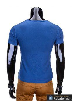 vyriški marškinėliai melynos spalvos, denim kolekcijos vyriški marškinėliai, trumpomis rankovėmis marškinėliai vyrams, klasikiniai vyriški marškinėliai, marškinėliai vyrams internetu, originalūs vyriški marškinėliai, marškinėliai vyrams spalvos, vyriški marškinėliai su užrašu ir aplikacija, marškinėliai uz gera kaina, protinga kaina, akcija, nuolaidos rūbams