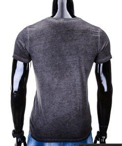 vyriški marškinėliai pilkos spalvos, denim kolekcijos pilki vyriški marškinėliai, trumpomis rankovėmis marškinėliai vyrams, klasikiniai vyriški marškinėliai, marškinėliai vyrams internetu, originalūs vyriški marškinėliai, marškinėliai vyrams spalvos, marškinėliai su užrašu ir aplikacija, marškinėliai uz gera kaina, protinga kaina, akcija, nuolaidos rūbams