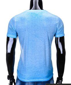 vyriški marškinėliai mėlynos spalvos, denim kolekcijos šviesiai mėlyni vyriški marškinėliai, trumpomis rankovėmis marškinėliai vyrams, klasikiniai vyriški marškinėliai, marškinėliai vyrams internetu, originalūs vyriški marškinėliai, marškinėliai vyrams spalvos, marškinėliai su užrašu ir aplikacija, marškinėliai uz gera kaina, protinga kaina, akcija, nuolaidos rūbams