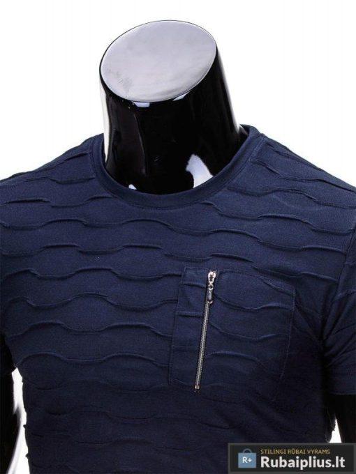 trumpomis rankovėmis marškinėliai vyrams, klasikiniai marškinėliai vyrams, marškinėliai vyrams internetu, originalūs vyriški marškinėliai, marškinėliai vyrams juodos spalvos, vyriški marškinėliai su užrašu ir aplikacija, gara kaina, provigna kaina, akcija, nuolaidos