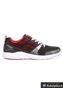 raudoni batai, vyriški sportiniai batai, batai vyrams, batai sportui, batai kasdien, vyriski batai, sporbaciai, kedai, batai jaunimui, avalyne vyrams, sportine avalyne