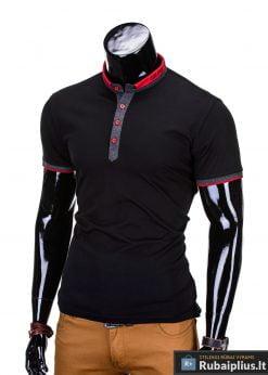 juodi marskineliai, madingi vyriški marškinėliai tamsiai pilkos spalvos, denim kolekcijos vyriški marškinėliai, trumpomis rankovėmis marškinėliai vyrams, klasikiniai vyriški marškinėliai, stilingi marškinėliai vyrams internetu, originalūs vyriški marškinėliai, marškinėliai vyrams spalvos, vyriški marškinėliai su užrašu ir aplikacija, stilingi marškinėliai uz gera kaina, protinga kaina, akcija, nuolaidos rūbams