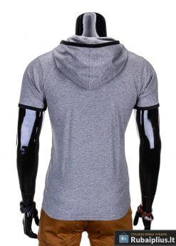 marškinėliai su gobtuvu, marškinėliai su kapisonu, madingi vyriški marškinėliai pilkos spalvos, denim kolekcijos vyriški marškinėliai, trumpomis rankovėmis marškinėliai vyrams, klasikiniai vyriški marškinėliai, stilingi marškinėliai vyrams internetu, originalūs vyriški marškinėliai, marškinėliai vyrams spalvos, vyriški marškinėliai su užrašu ir aplikacija, stilingi marškinėliai uz gera kaina, protinga kaina, akcija, nuolaidos rūbams