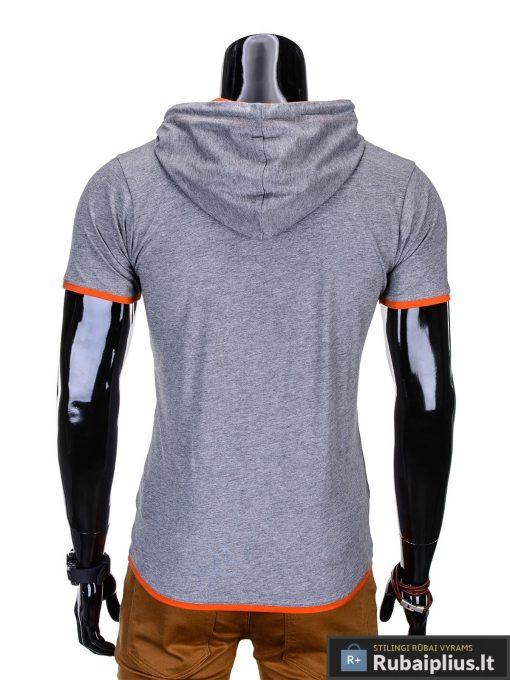 marškinėliai su gobtuvu, marskineliai su kapisonu, madingi vyriški marškinėliai pilkos spalvos, denim kolekcijos vyriški marškinėliai, trumpomis rankovėmis marškinėliai vyrams, klasikiniai vyriški marškinėliai, stilingi marškinėliai vyrams internetu, originalūs vyriški marškinėliai, marškinėliai vyrams spalvos, vyriški marškinėliai su užrašu ir aplikacija, stilingi marškinėliai uz gera kaina, protinga kaina, akcija, nuolaidos rūbams