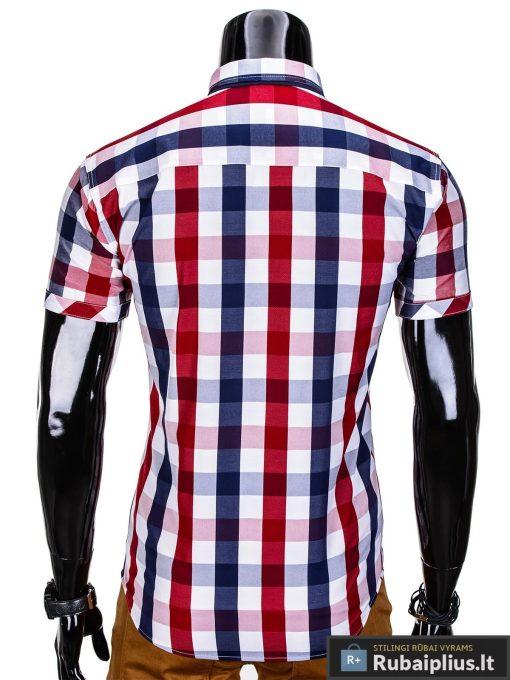 vyriski marskiniai, raudoni marskiniai, languoti marskiniai, stilingi marškiniai, marškiniai internetu, vyriški marškiniai, klasikiniai marškiniai, marškiniai vyrams