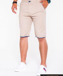 smėlio spalvos šortai, vyriški šortai internetu, pirkti džinsiniai šortai, originalus šortai vyrams, smelio spalvos vyriški bridžai, bridžai vyrams gera kaina
