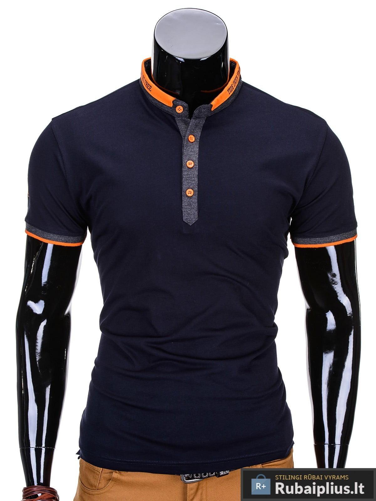 melyni marskineliai, madingi vyriški marškinėliai tamsiai pilkos spalvos, denim kolekcijos vyriški marškinėliai, trumpomis rankovėmis marškinėliai vyrams, klasikiniai vyriški marškinėliai, stilingi marškinėliai vyrams internetu, originalūs vyriški marškinėliai, marškinėliai vyrams spalvos, vyriški marškinėliai su užrašu ir aplikacija, stilingi marškinėliai uz gera kaina, protinga kaina, akcija, nuolaidos rūbams