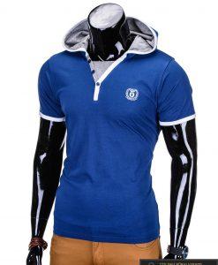 marškinėliai su gobtuvu, marškinėliai su kapisonu, madingi vyriški marškinėliai tamsiai mėlynos spalvos, denim kolekcijos vyriški marškinėliai, trumpomis rankovėmis marškinėliai vyrams, klasikiniai vyriški marškinėliai, stilingi marškinėliai vyrams internetu, originalūs vyriški marškinėliai, marškinėliai vyrams spalvos, vyriški marškinėliai su užrašu ir aplikacija, stilingi marškinėliai uz gera kaina, protinga kaina, akcija, nuolaidos rūbams