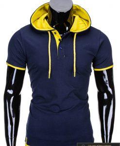 marškinėliai su gobtuvu, marskineliai su kapisonu,madingi vyriški marškinėliai tamsiai mėlynos spalvos, denim kolekcijos vyriški marškinėliai, trumpomis rankovėmis marškinėliai vyrams, klasikiniai vyriški marškinėliai, stilingi marškinėliai vyrams internetu, originalūs vyriški marškinėliai, marškinėliai vyrams spalvos, vyriški marškinėliai su užrašu ir aplikacija, stilingi marškinėliai uz gera kaina, protinga kaina, akcija, nuolaidos rūbams