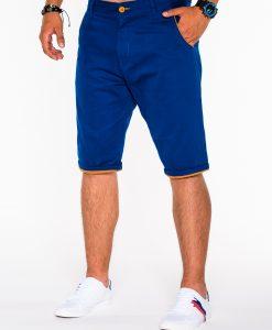 stilingi mėlyni šortai vyrams, vyriški šortai internetu, pirkti džinsiniai šortai, originalus šortai vyrams, mėlynos spalvos vyriški bridžai, bridžai vyrams gera kaina