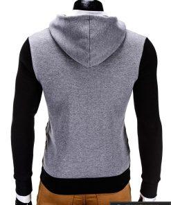 iskirtinis dzemperis, stilingas dzemperis, pilkas džemperis, juodos spalvos vyriškas džemperis internetu, džemperis vyrams, patogus vyriškas džemperis, džemperis užsegamas užtrauktuku su kišenėmis, džemperis mėgstantiems aktyvų gyvenimo būdą, džemperis laisvalaikiui, džemperis užsegamas užtrauktuku, originalūs vyriški džemperiai, vyriškas bliuzonas internetu, bliuzonas su gobtuvu, bliuzonas su kapišonu stilingas, bliuzonas vyrams, vyriškas megztinis internetu, kokybiškas džemperis, madingi vyriški džemperiai, džemperis sportui, džemperis krepšiniui, džemperis futbolui, vyriški džemperiai už protigna kaina, akcija, nuolaidos