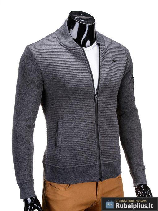 jaunimui, jaunuoliui, vyriskas dzemperis, pilkos spalvos vyriškas džemperis internetu, džemperis vyrams, patogus vyriškas džemperis, džemperis užsegamas užtrauktuku su kišenėmis, džemperis mėgstantiems aktyvų gyvenimo būdą, džemperis laisvalaikiui, džemperis užsegamas užtrauktuku, originalūs vyriški džemperiai, vyriškas bliuzonas internetu, bliuzonas su gobtuvu, bliuzonas su kapišonu stilingas, bliuzonas vyrams, vyriškas megztinis internetu, kokybiškas džemperis, madingi vyriški džemperiai, džemperis sportui, džemperis krepšiniui, džemperis futbolui, vyriški džemperiai už protigna kaina, akcija, nuolaidos