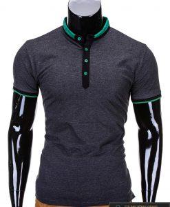 pilki marskineliai, madingi vyriški marškinėliai tamsiai pilkos spalvos, denim kolekcijos vyriški marškinėliai, trumpomis rankovėmis marškinėliai vyrams, klasikiniai vyriški marškinėliai, stilingi marškinėliai vyrams internetu, originalūs vyriški marškinėliai, marškinėliai vyrams spalvos, vyriški marškinėliai su užrašu ir aplikacija, stilingi marškinėliai uz gera kaina, protinga kaina, akcija, nuolaidos rūbams