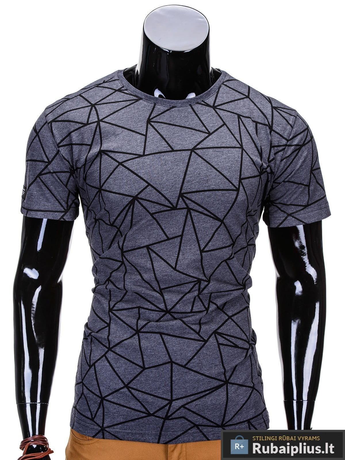 vyriski marskineliai 3D, vyriški marškinėliai pilkos spalvos su aplikacija, denim kolekcijos vyriški marškinėliai, trumpomis rankovėmis marškinėliai vyrams, klasikiniai vyriški marškinėliai, marškinėliai vyrams internetu, originalūs vyriški marškinėliai, marškinėliai vyrams spalvos, vyriški marškinėliai su užrašu ir aplikacija, marškinėliai uz gera kaina, protinga kaina, akcija, nuolaidos rūbams