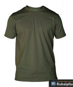 Chaki spalvos vyriški marškinėliai vyrams FLYERS KS16581Z