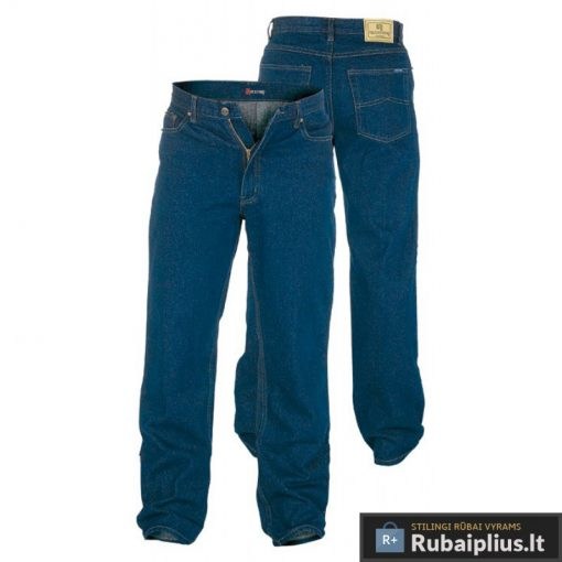 Didelių dydžių vyriškos džinsinės kelnės vyrams Comfort RJ560