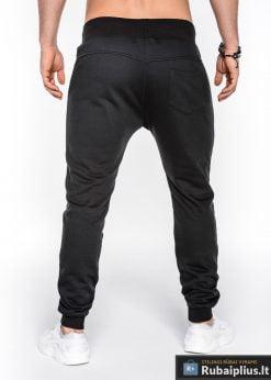 stilingos vyriskos juodos sportinės kelnės vyrams Balu internetu pigiau P469J