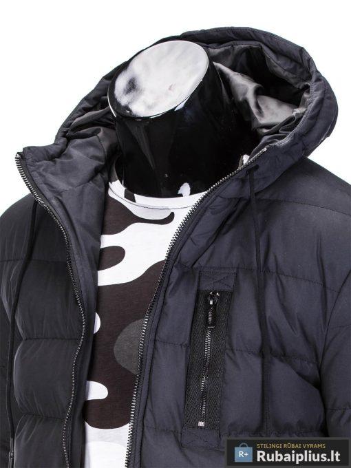 juoda žieminė vyriska striuke, juoda striuke vyrams, vyriskos striukes internetu, stilinga vyriška striukė, vyriška striukė žiemai, madingos vyriškos striukės internetu, žieminės striukės, žieminė striukės, originalios striukės, aukštos kokybės, nuolaida, akcija, aukšta kokybė, greitas pristatymas, apmokėjimas gavus preke