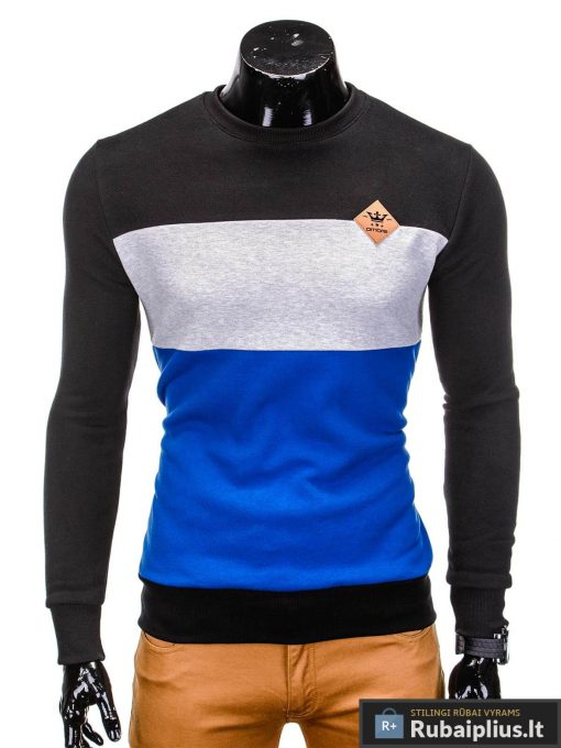 Juodas vyriškas džemperis internetu pigiau Tend B701