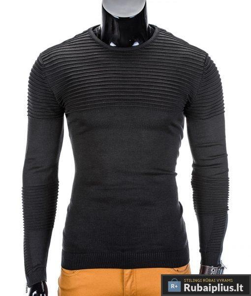 rubaiplius-juodas-vyriskas-megztinis-dzemperis-vyrams-roko