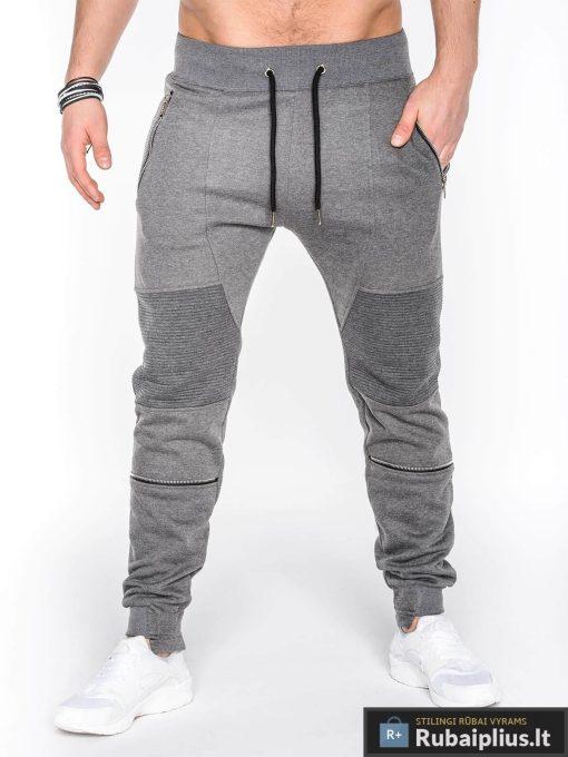 Pilkos vyriškos sportinės kelnės vyrams internetu pigiau Balu P469
