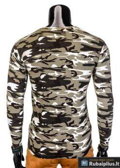marškinėliai vyrams, chaki spalvos vyriški marškinėliai, kamufliažiniai vyriški marškinėliai, marškinėliai internetu, ilgomis rankovėmis