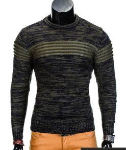 Chaki vyriškas megztinis internetu Faruk E99 džemperis vyrams pigiau