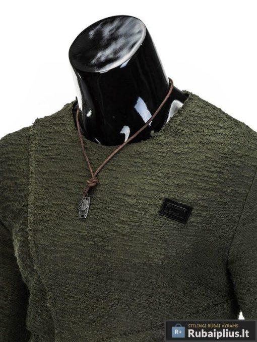 chaki megztinis, chaki spalvos vyriškas džemperis internetu, džemperis vyrams, patogus vyriškas džemperis, džemperis mėgstantiems aktyvų gyvenimo būdą, džemperis laisvalaikiui, originalūs vyriški džemperiai, vyriškas bliuzonas internetu, bliuzonas stilingas, bliuzonas vyrams, vyriškas megztinis internetu, kokybiškas džemperis, madingi vyriški džemperiai, džemperis sportui, džemperis krepšiniui, džemperis futbolui, vyriški džemperiai už protigna kaina, akcija, nuolaidos