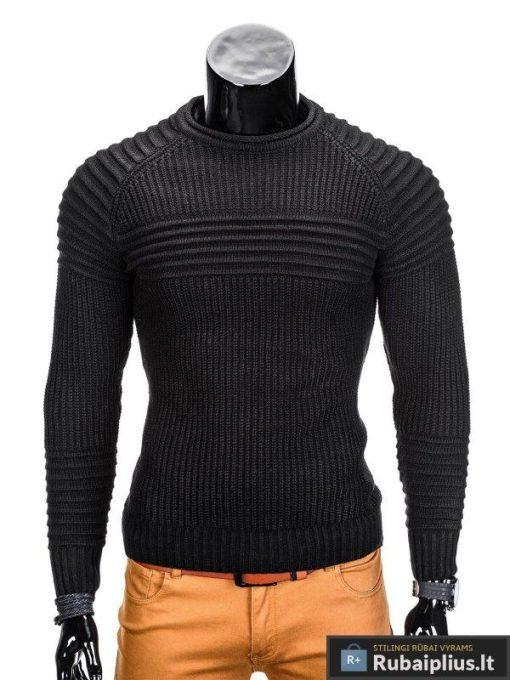 rubaiplius-juodas-vyriskas-megztinis-dzemperis-vyrams-guru-1