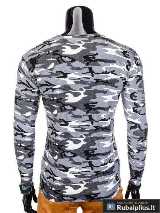 marškinėliai vyrams, pilki vyriški marškinėliai, kamufliažiniai vyriški marškinėliai, marškinėliai internetu, ilgomis rankovėmis