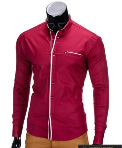 vyriški raudonos spalvos marškiniai internetu, stilingi raudoni marškiniai vyrams, madingi marškiniai vyrams ilgomis rankovemis, originalūs vyriški marškiniai internetu, klasikiniai marškiniai vyrams, stilingi marškiniai vyrams, aukšta kokybė, greitas pristatymas, apmokėjimas gavus prekes, vyriškų striukių išpardavimas
