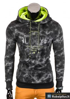 Juodas vyriškas džemperis Miami B706