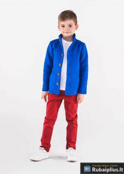 Mėlynas vaikiškas bliuzonas vaikams internetu pigiau Carmelo KB002M-2