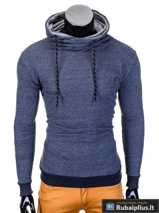 Šviesiai mėlynas vyriškas džemperis Parmo B720