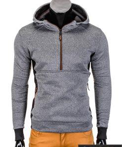 Pilkas vyriškas džemperis Fibo P712
