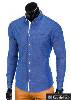 vyriški tamsiai mėlynos spalvos marškiniai internetu, stilingi tamsiai mėlynos spalvos marškiniai vyrams, madingi marškiniai vyrams ilgomis rankovemis, originalūs vyriški marškiniai internetu, klasikiniai marškiniai vyrams, stilingi marškiniai vyrams, aukšta kokybė, greitas pristatymas, apmokėjimas gavus prekes, vyriškų striukių išpardavimas