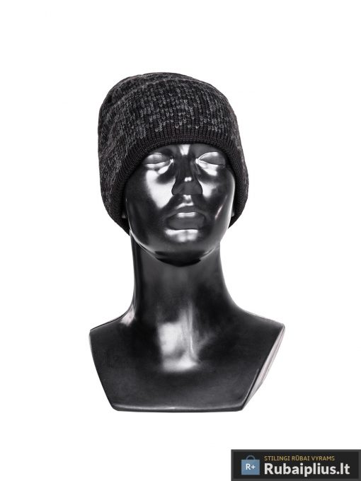 Tamsiai pilka vyriska kepure vyrams Amigo A077-1