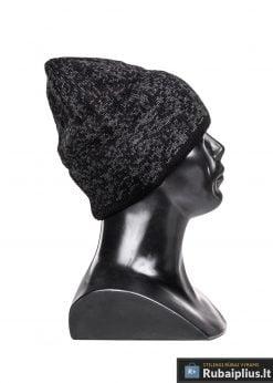 Tamsiai pilka vyriška kepurė vyrams Amigo A077-2