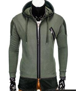 Chaki džemperis vyrams Konan B756