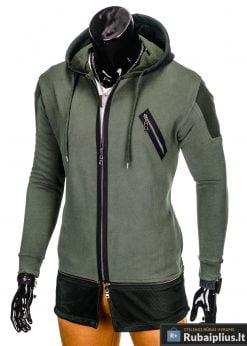 stilingas chaki spalvos dzemperis vyrams internetu pigiau, nebrangiai madingi vyriški džemperiai protigna kaina jaunuoliams, berniukams, paaugliams nuolaidos
