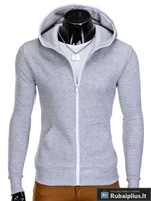 Pilkas džemperis vyrams internetu pigiau Harm B603
