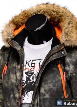 kamufliazine žieminė vyriska striuke vyrams internetu pigiau