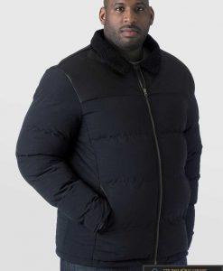 Juodos spalvos vyriška striukė vyrams internetu pigiau