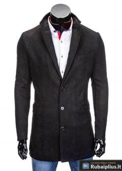 Stilinga Juodas paltas vyrams internetu pigiau Will C279